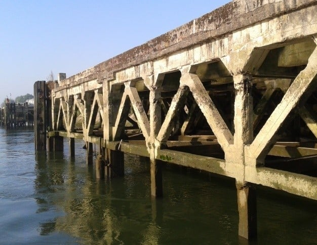 Vérification de la stabilité et de la solidité structurelle de l'appontement 25 – Port de Rouen (76)