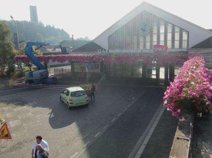 inspection visuelle de la gare de Lisieux